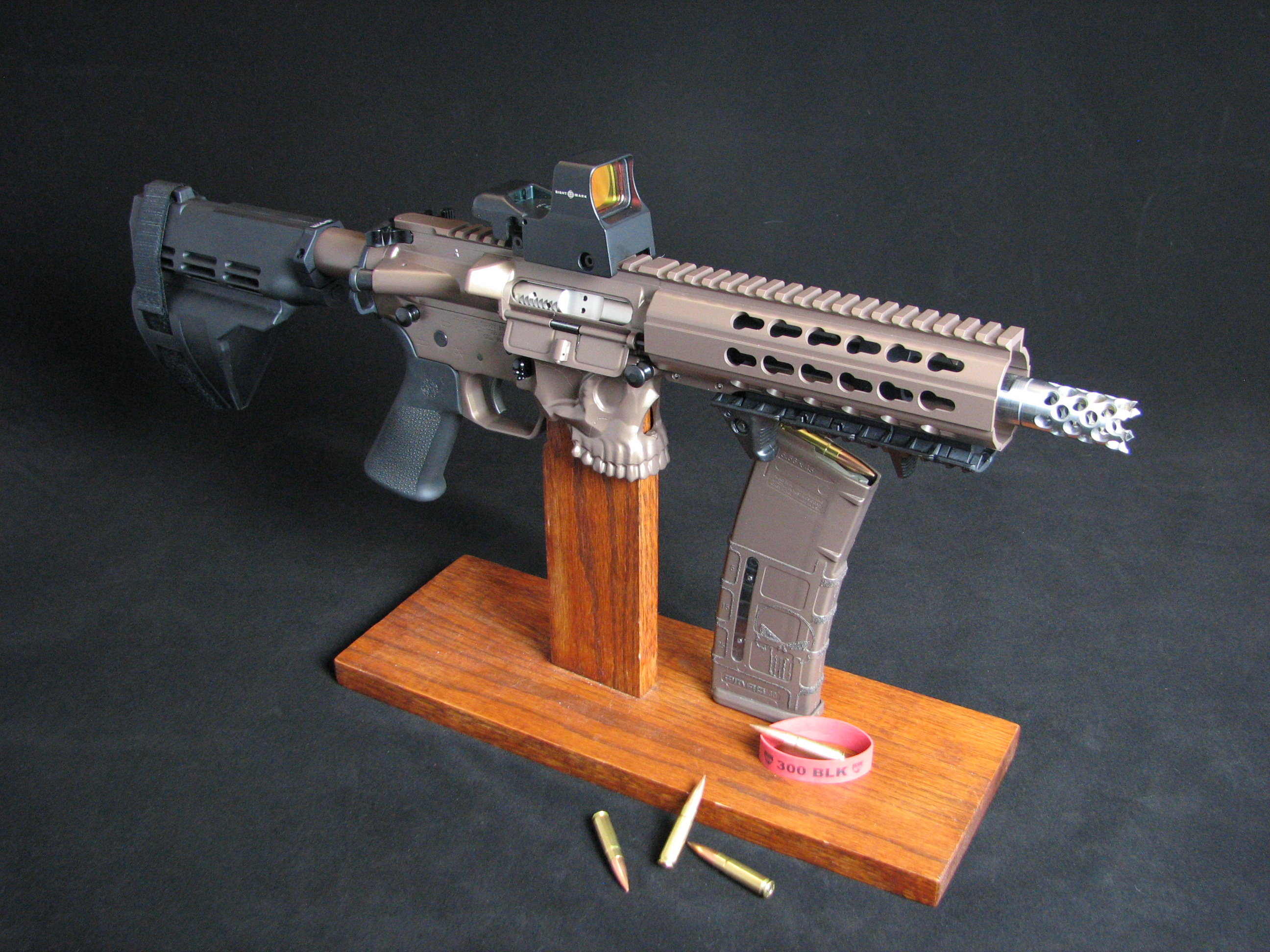 The Jack 300 Custom Ar Blackout Pistol Jawsarms Com
