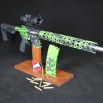 Duracoat, custom ar build, custom 223, jack lower, zombie, unique ar, hex mag