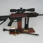 This show stopper is 2 guns in one.  Huh?  Interested?  Yep, Switch from .223 to 300 Blackout in just under a minute.